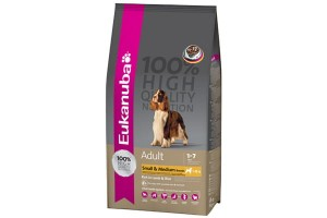 Eukanuba Adult Small & Medium Breeds Jagnięcina z ryżem 12 kg