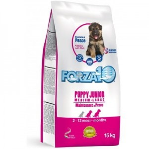 FORZA10 Puppy Junior M/L z rybą 15 kg