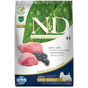 FARMINA ND GRAIN FREE LAMB MINI ADULT 7 KG
