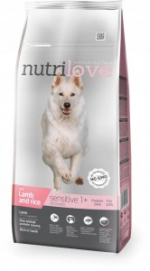 NUTRILOVE Sensitive Lamb & Rice 12kg
