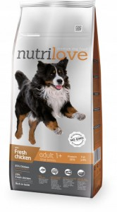 NUTRILOVE Adult Large Chicken 12 kg