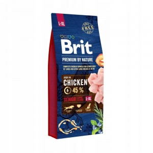 Brit Premium by nature SENIOR L / XL 15 kg