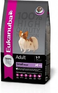 Eukanuba Adult Small Breed z kurczakiem 15 kg