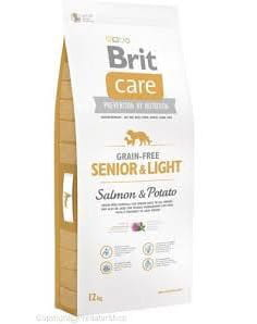 Brit Care Grain-Free Senior Salmon & Potato 12 kg