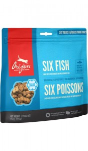 ORIJEN FD Treats Six Fish Cat 35 G