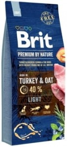 Brit Premium by nature LIGHT 15 kg