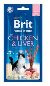 Brit Premium by Nature Cat Sticks Chicken & Liver