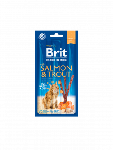Brit Premium by Nature Cat Sticks Salmon & Trout