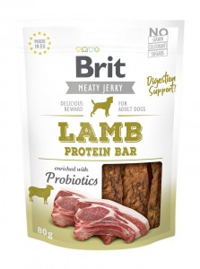 Brit Jerky Snack - Lamb Protein Bar 80g