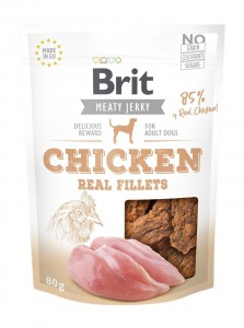 Brit Jerky Snack - Chicken Fillets 200g
