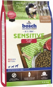 Bosch Sensitive Lamb & Rice 3 kg