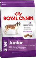 Royal Canin Giant Junior 15 kg + 3 kg GRATIS