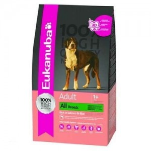 Eukanuba Adult Salmon & Rice All breeds 12 kg